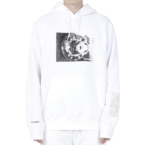 [40% OFF][RENDEZVOUZ] DOCKING HOODIE - WHITE