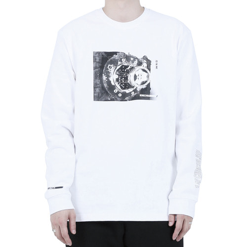 [40% OFF][RENDEZVOUZ] DOCKING LONG SLEEVE - WHITE