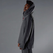 [60%할인][YOUOMYOUO] Drop Shoulder Hood T - Gray
