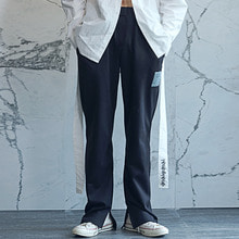 [60%할인][YOUOMYOUO] Basic Straight Pants - Black
