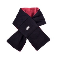 [20%할인][Double adrenaline syndrome]Reversible knit muffler - Burgundy