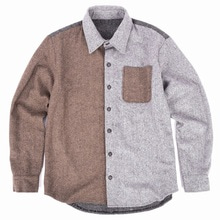 [30%할인][Double adrenaline syndrome]Herringbone mixed shirts