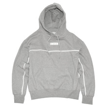 [30%할인][Double adrenaline syndrome]Scotch logo hoodie - Grey