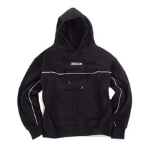 [30%할인][Double adrenaline syndrome]Scotch logo hoodie - Black
