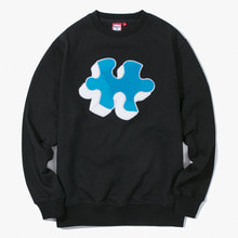 [Have a good time] FW17 Puzzle Crewneck - Black