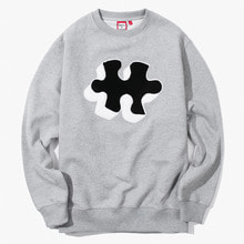 [Have a good time] FW17 Puzzle Crewneck - White