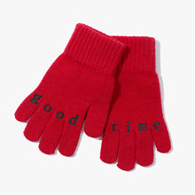 [Have a good time] FW17 Good Time Gloves - Red