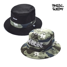 [50%할인][SPECIALGUEST]양면 BUCKET HAT - SKULL DOUBLE FACE