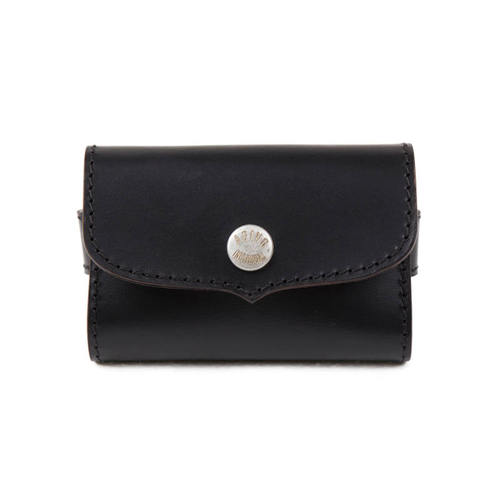 [AGINGCCC]247#  BUSINESS CARD WALLET-BLACK CORDOVAN