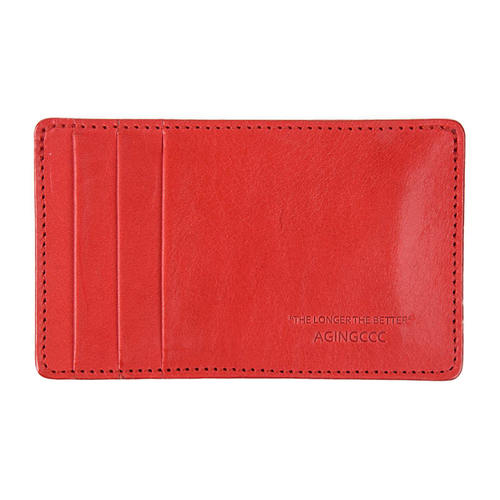 [AGINGCCC]236#Y CARD WALLET- RED