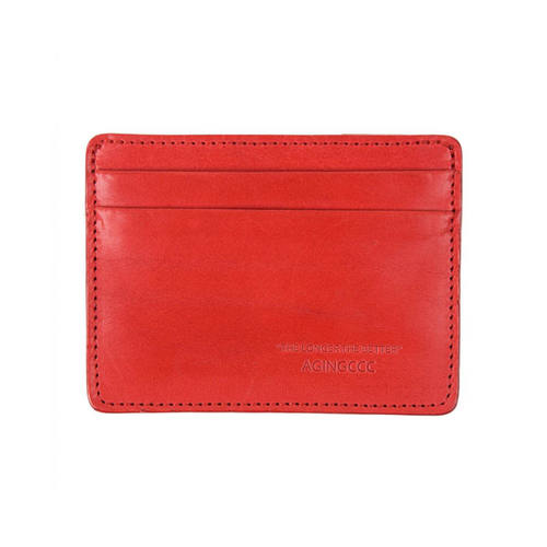 [AGINGCCC]235#  X CARD WALLET-RED