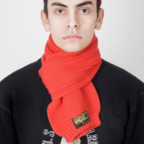 [AGINGCCC]222# AKTS-12 REDCROSS MUFFLER RED