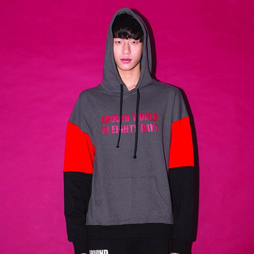 [20%할인] [AROUND80]COLOR SCHEME HOODIE_GRAY