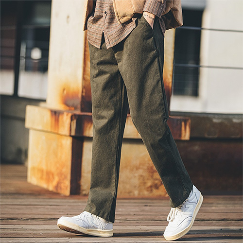 [53% sale] [WOLPENDER] (Man) Warmit Wide Banding Pants