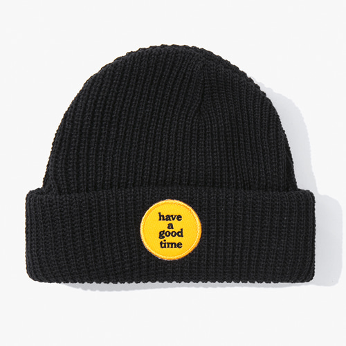 [Have a good time] FW17 Chocolate watch Cap - Black