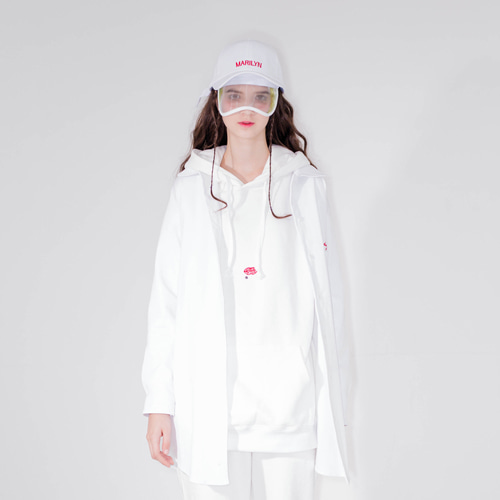 [20%할인] [LIPUNDERPOINT] LONG SHIRT_ WHITE