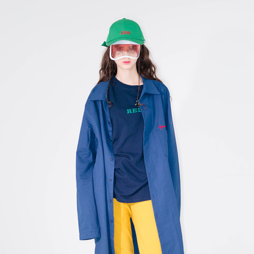 [20%할인] [LIPUNDERPOINT] LONG SHIRT_ BLUE