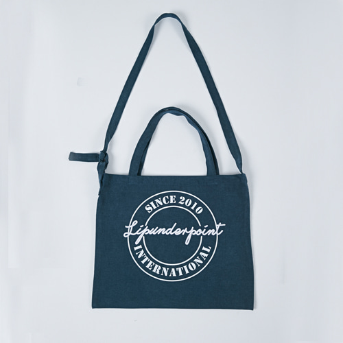 [LIPUNDERPOINT] LOGOPLAY ECHO BAG_GREEN