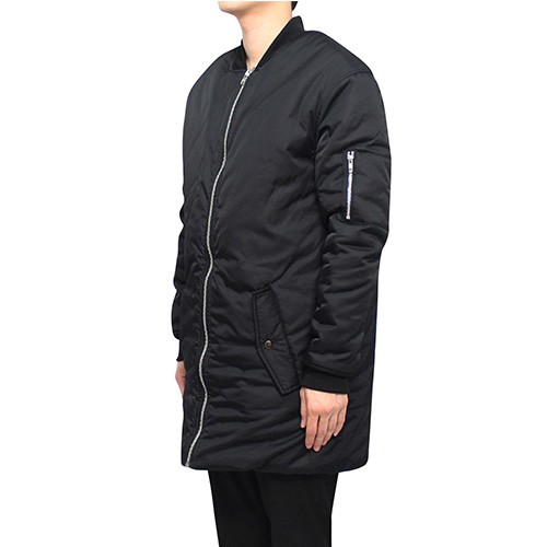 [클라코] LONG MA-1 PADDING - BLACK