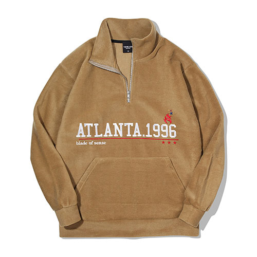 [TENBLADE] Atlanta 1996 Fleece Zipup_Beige