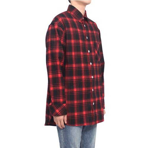 [클라코] FLANNEL SHIRTS V3 - RED