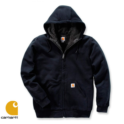 [Carhartt] COLLISTON LINED HOODED SWEATSHIRT (BLACK)