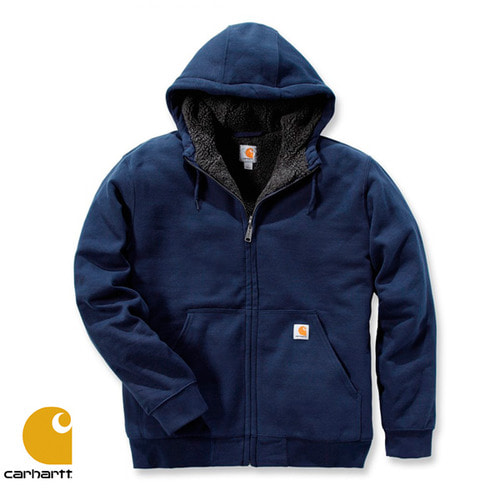 [Carhartt] COLLISTON LINED HOODED SWEATSHIRT (NEW NAVY)