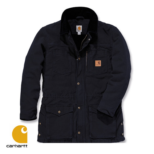 [Carhartt] SANDSTONE CANYON COAT (BLACK)