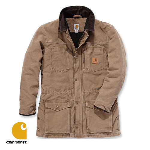 [Carhartt] SANDSTONE CANYON COAT (FRONTIER BROWN)