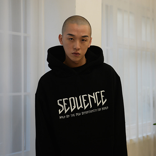 [S'BLZ] Sequence Hoodie - Black