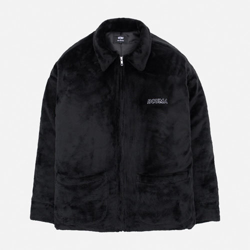 [12월8일 예약배송] [30%할인][DCUMA] VELBOA PADDED JACKET_BLACK