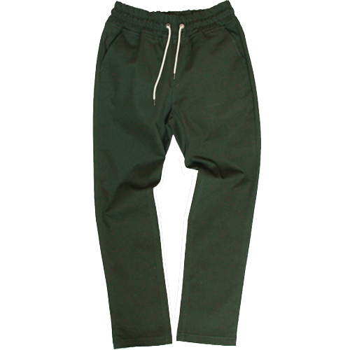 [MARSRAIGHT]BAND TWILL PANTS-KHAKI