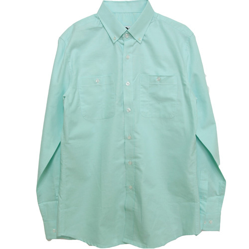 [MARSRAIGHT]OXFORD POCKET SHIRT-MINT