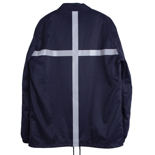 [MARSRAIGHT]CROSS COACH JACKET-NAVY