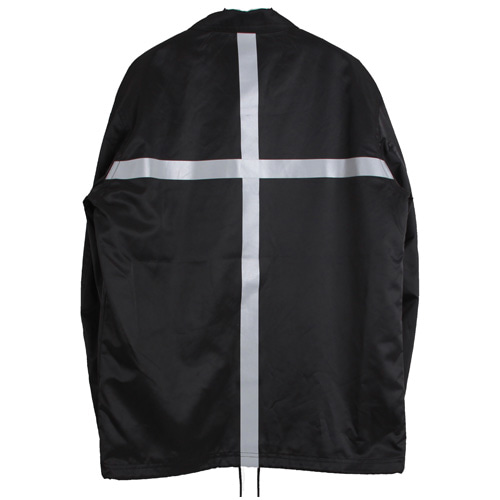[MARSRAIGHT]CROSS COACH JACKET-BLACK