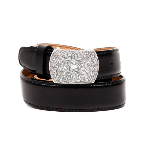 [AGINGCCC]251# 1890 92.5 SILVER CW OFFICER BELT-WESTERN