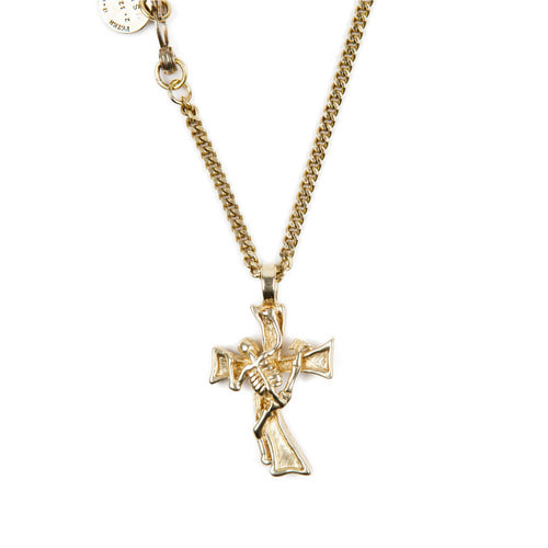 [AGINGCCC]253# MEXICAN CROSS&SKULL NECKLACE