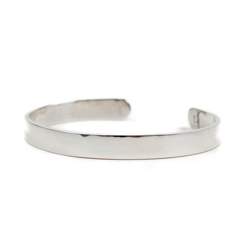 [AGINGCCC]257# BASIC SILVER BANGLE