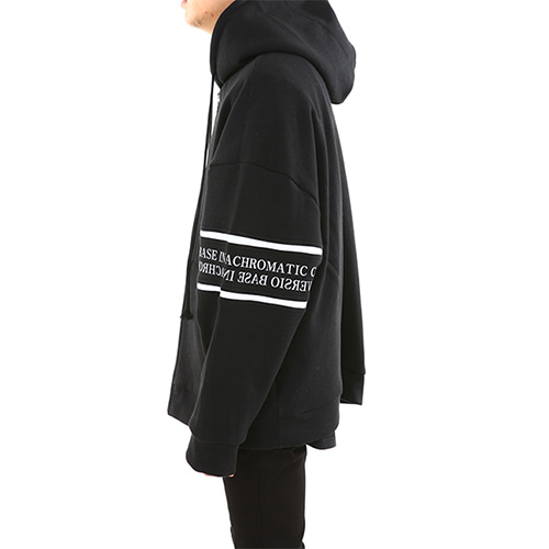 [12.12일 출고예정][LANG VERSIO] Lettering Hood Zip-up [기모]