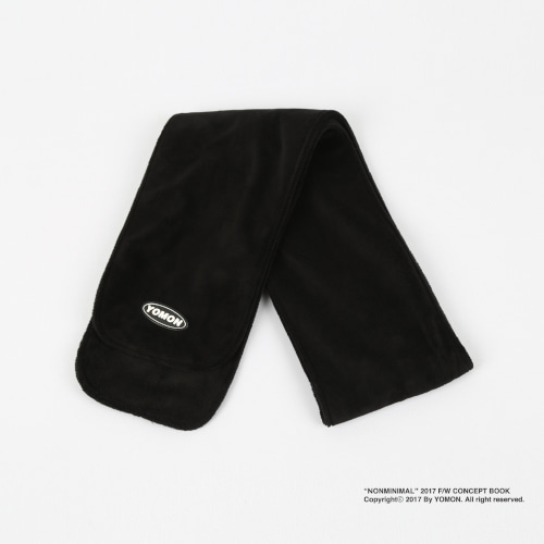[YOMON] Fleece Muffler Black