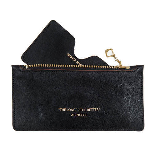[AGINGCCC]265# STANDARD CARD POUCH-BLACK
