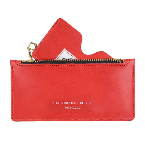 [AGINGCCC]267# STANDARD CARD POUCH-RED