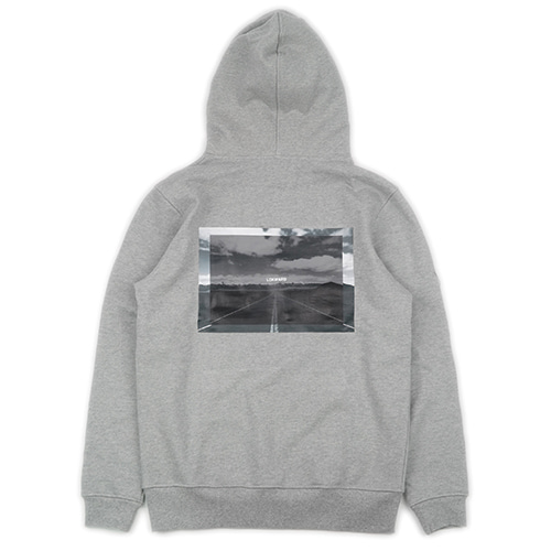 [LOKWARD] LONG ROAD HOODIE (GREY)