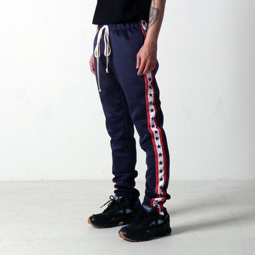 [EPTM] GRAPHIC TRACK PANTS (NAVY STARS)