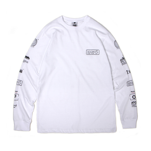 [30%할인][[Abnormalthing] - Hanabi Long Sleeve (White)