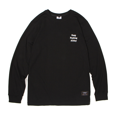 [30%할인][[Abnormalthing] - Keep Long Sleeve (Black)