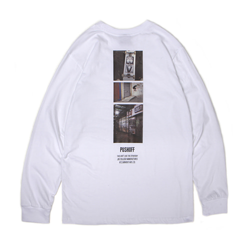 [30%할인][[Abnormalthing] - Pushoff Long Sleeve (White)