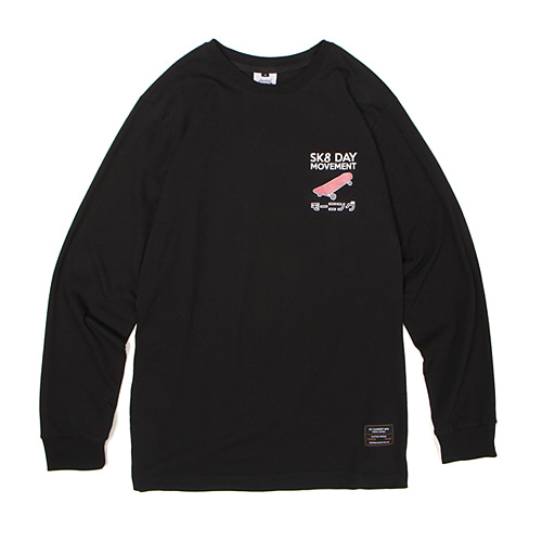 [30%할인][[Abnormalthing] - Skateday Long Sleeve (Black)