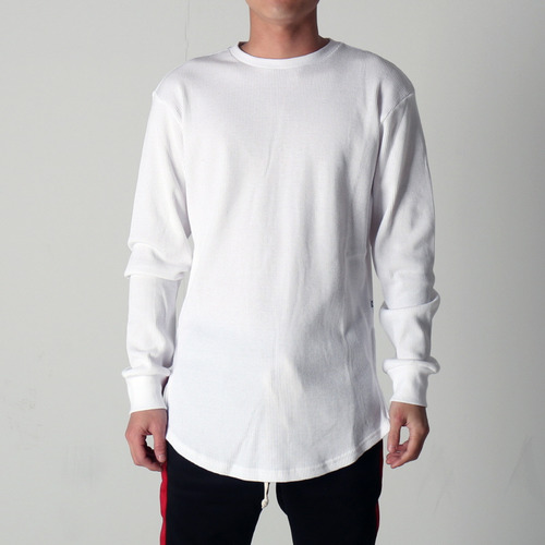 [EPTM](50%세일) SIDE ZIP THERMAL LONG TEE (WHITE)
