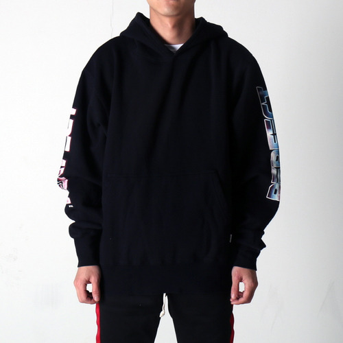 [EPTM] GRAPHIC SIDE ZIP HOODIE (BLACK)